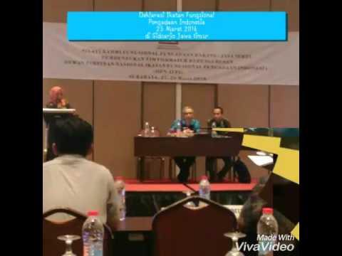 Deklarasi ikatan fungsional pengadaan Indonesia IFPI