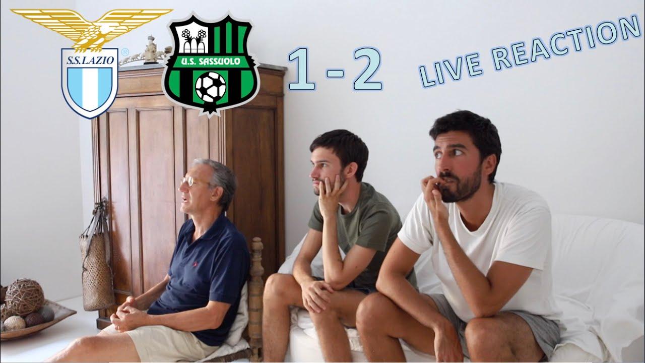 LAZIO-SASSUOLO 1-2 | LIVE REACTION | Stiamo rasentando il ridicolo!