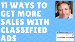 11 Proven Ways to Get More Sales With Classified Ad Marketing