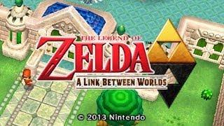 ZELDA: A LINK BETWEEN WORLDS (Nintendo 3DS Gameplay)