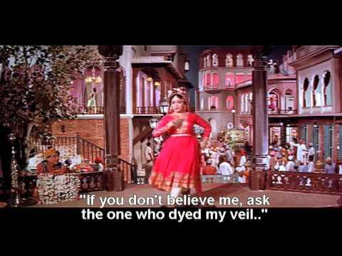 Pakeezah (1972) - Inhi Logon Ne - Lata Mangeshkar [English Subtitles]
