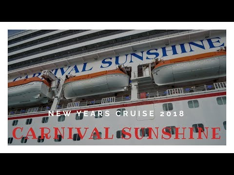Carnival Sunshine New Years Cruise 2018