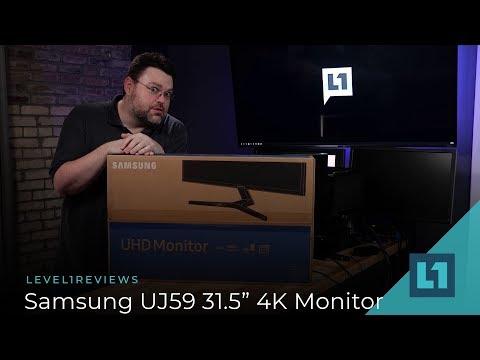 "Samsung UJ59(LU32J590UQNXZA) 31.5"" 4K Monitor Review"