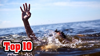 Top 10 SCARY LOST AT SEA STORIES