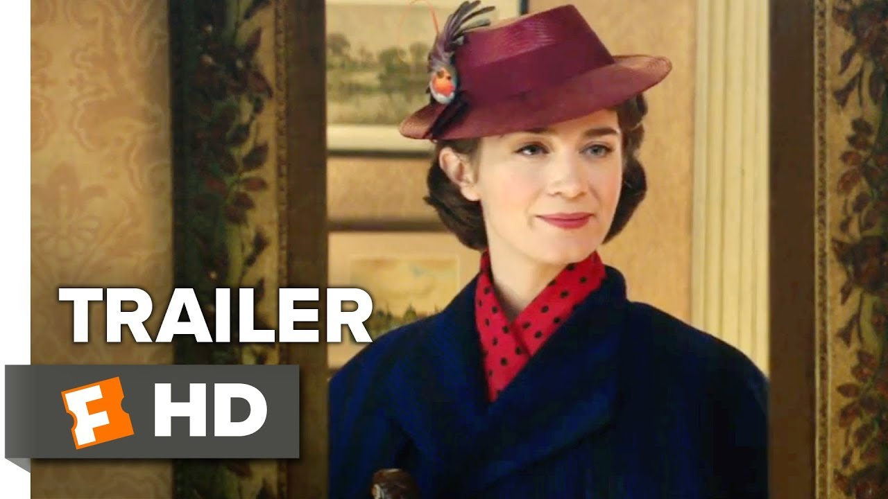 Mary Poppins Returns Teaser Trailer 1 2018 Movieclips Trailers