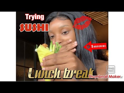 What's A MUKBANG!? WHY Is SUSHI RAW