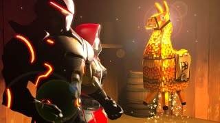 Saving GOLDEN LOOT LLAMA! - Original Fortnite 3D Animation (SFM Animation)