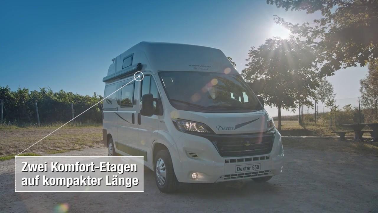 Karmann-Mobil: Der Dexter 550 2019