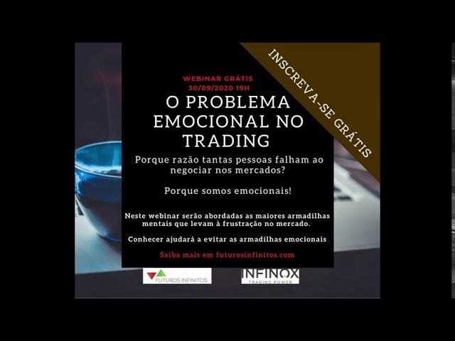 Webinar O problema emocional no Trading