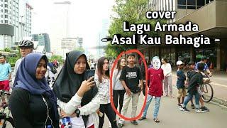 Video Suara Vokalis ARMADA Lewat Jahu Dengan Pengamen Ini Live Music Car Free Day download MP3, 3GP, MP4, WEBM, AVI, FLV Juni 2018