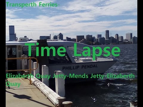 [Time Lapse] Transperth Ferries-Round Trip (2016)