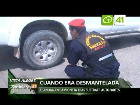 SERENAZGO VICTOR LARCO RECUPERAN CAMIONETA ROBADA 18 SETIEMBRE OZONO TELEVISION CANAL 41
