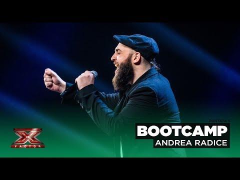 "Andrea Radice Canta ""Recovery"" Di James Arthur | Bootcamp 2"