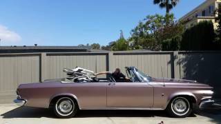 Top up and down 1964 Chrysler 300K