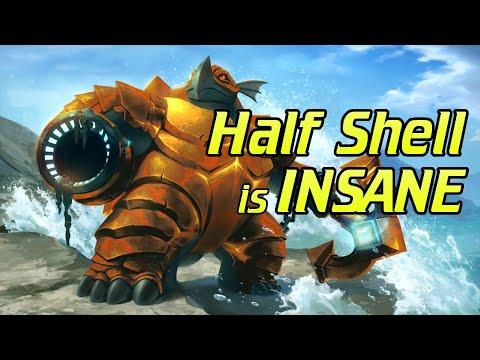 HALF SHELL MAKOA IS INSANE!!! - Paladins Makoa Gameplay