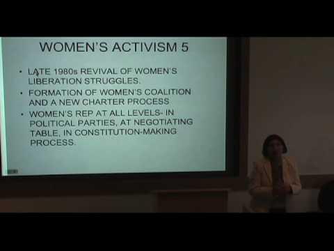 International Studies Symposium Series - Rashida Manjoo Part 4