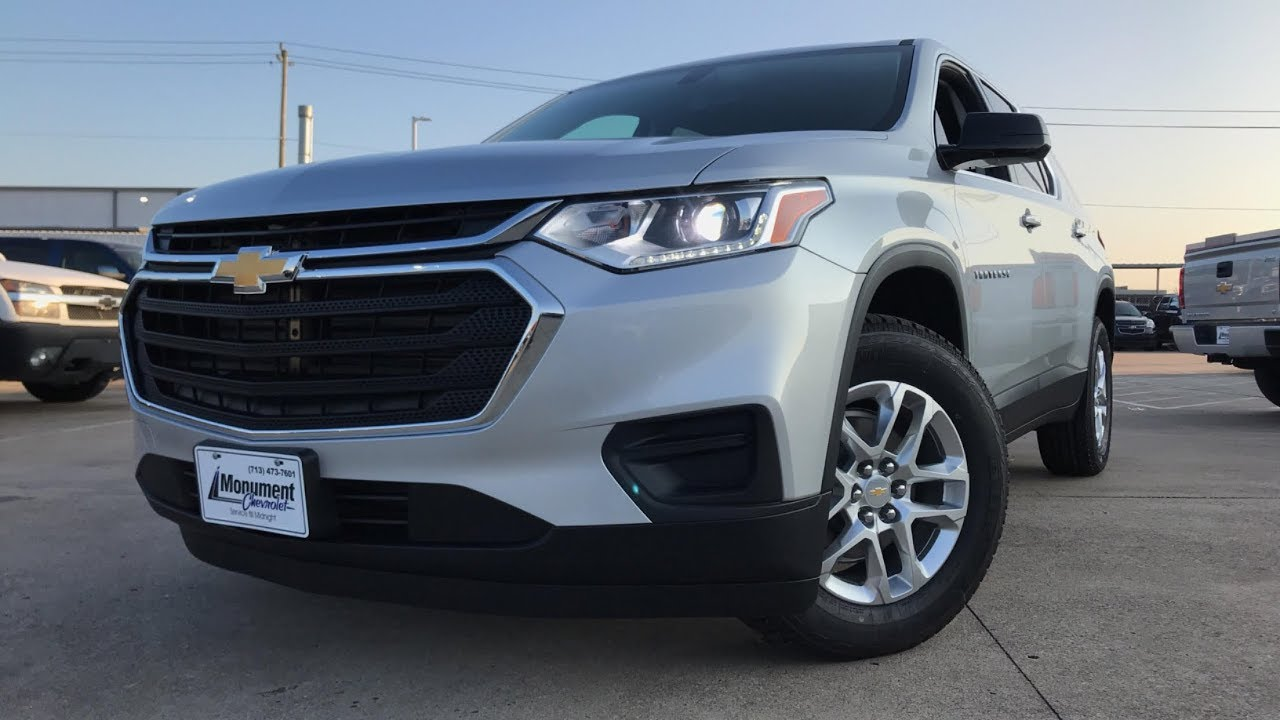 The Redesigned 2018 Chevrolet Traverse Ls 3 6l V6 Review
