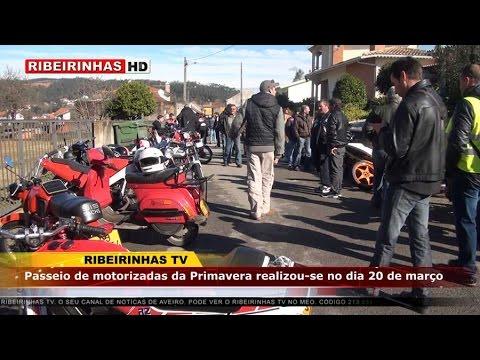 Passeio de motorizadas juntou mais de 100 participantes em Valmaior