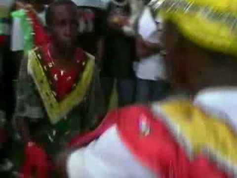 Guyana Masquerade Flounce