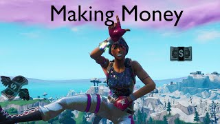 This is how I made money in Fortnite...