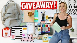 Back To School HAUL + GIVEAWAY! | Ashley Nichole