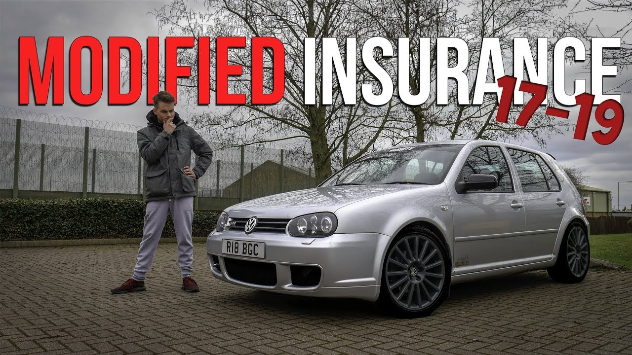 How to Get Modified Car Insurance at the Age of 17-19 - YouTube