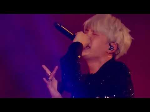 BTS SUGA RAP live