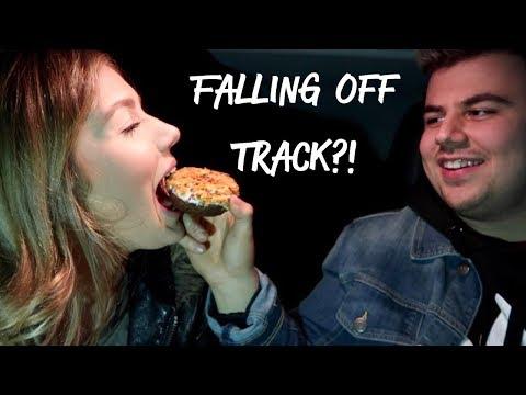 Road Trip Vlog With Bae + Eating Donuts In The Car    MorganLosing
