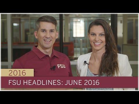 FSU Headlines: June 2016
