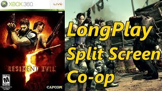 Resident Evil 5 - Longplay Split Screen Co-op Full Game Walkthrough (No Commentary) (Xbox 360, Ps3)