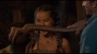 Survivor: Edge of Extinction -  Wendy Blindsided in a SHOCKING tribal council thumbnail