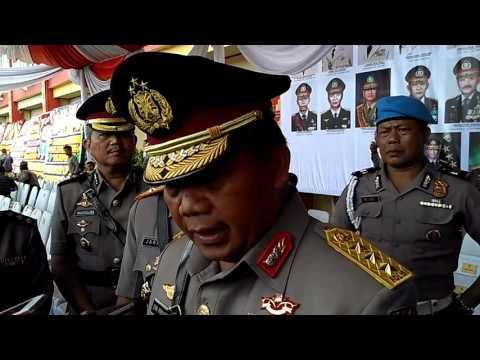 Irwasum Polri Komjen Dwi Priyatno resmikan Polda Lampung menjadi tipe A Mp3