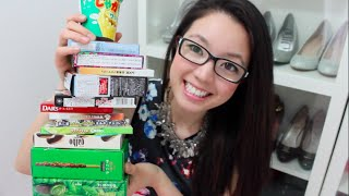 🇯🇵Trying MORE Japanese Candy and Snacks! 2.0 | rosellalee