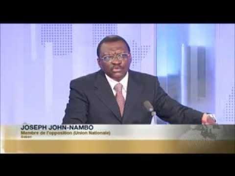 Interview du Professeur Joseph John-Nambo sur Africa24 (04/12/2013)