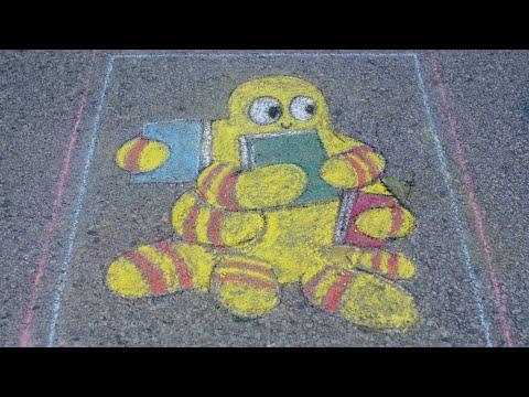 Let's Chalk: Rosita