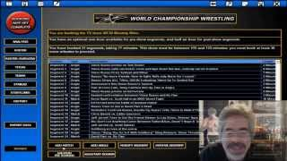 Russo Plays TEW (Total Extreme Wrestling): WCW 2000 - Episode 1