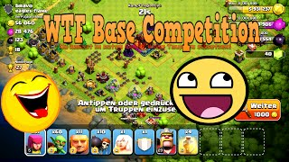 """Lets Play Clash of Clans #46 """"WTF Base Compilation """" [HD] GER/DEUTSCH"""