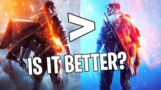 Going back to Battlefield 1... (is it BETTER than Battlefield 5?)