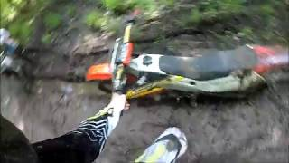 The Honda Cr 250 vs Three Feet of Mud!!!