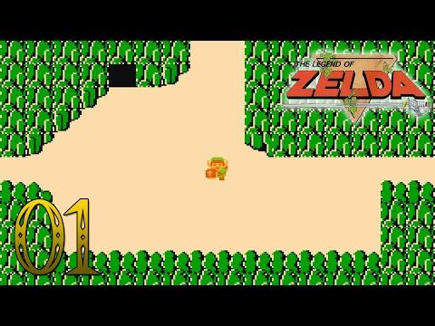 [Detonado Completo 100%] The Legend of Zelda #1 - O COMEÇO DE TUDO!