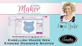 Embellish Maker - New Emboss Designer Shapes
