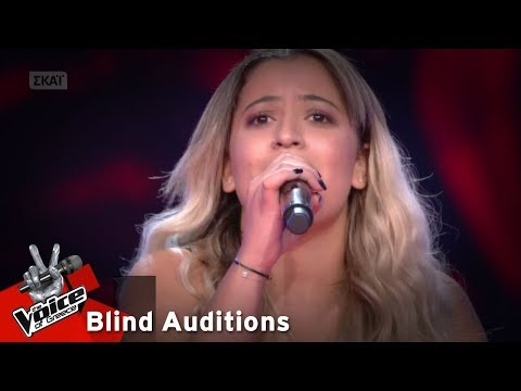 Μιχαέλα Θεοδώρου - The phantom of the opera | 7o Blind Audition | The Voice of Greece
