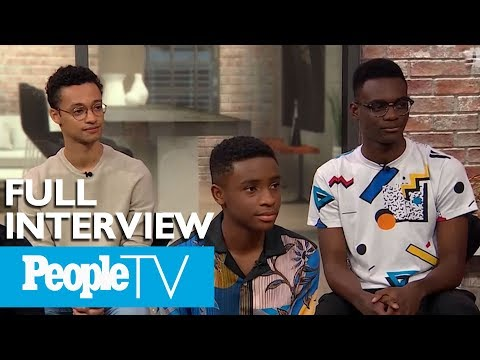 KJ Brooks - Interview With Cast of 'When They See Us'