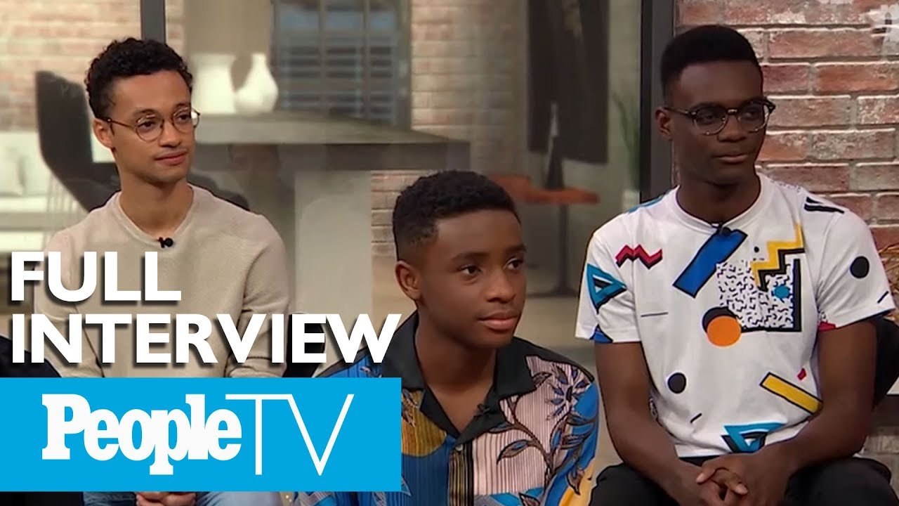'When They See Us' Cast On The Central Park Five: 'These Men Are So Brave'  | PeopleTV
