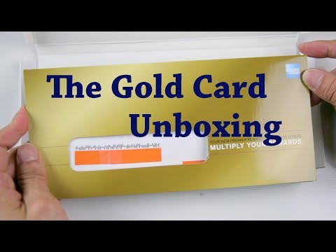 Superfulous Gold Card Unboxing