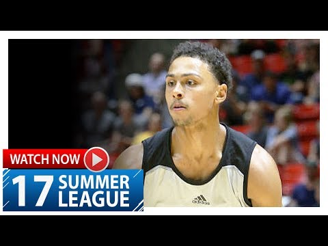 Bryn Forbes Full Highlights vs 76ers (2017.07.06) Summer League - 21 Pts