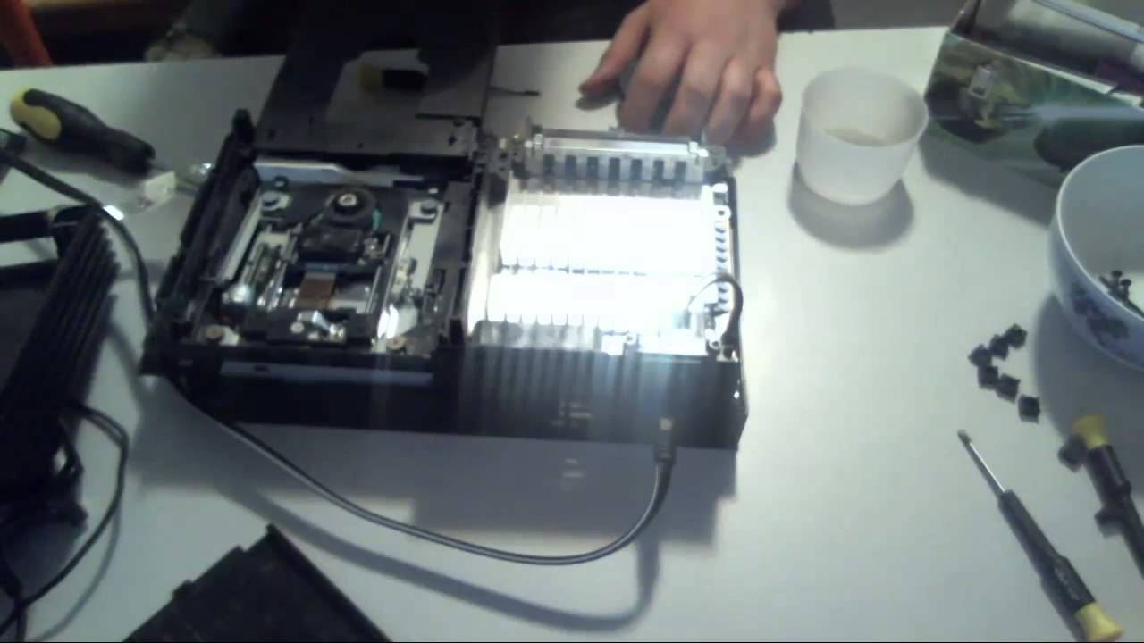 PS2 disassembly guide  (Fix Disc Read Errors and Stuck/Grindy Disc trays!)