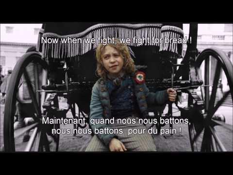 Look Down- Les Misérables, Gavroche's part- [French subtitles]