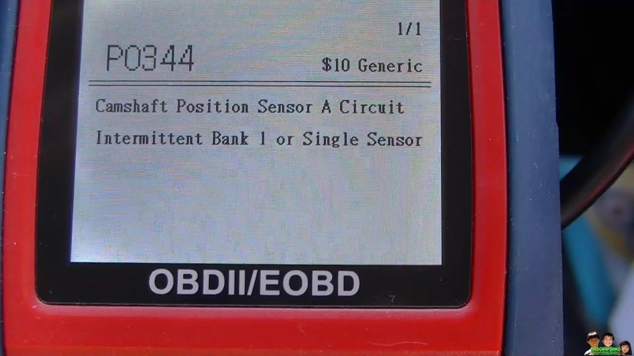 P0344 Camshaft Sensor Repair Chrysler Sebring 2005
