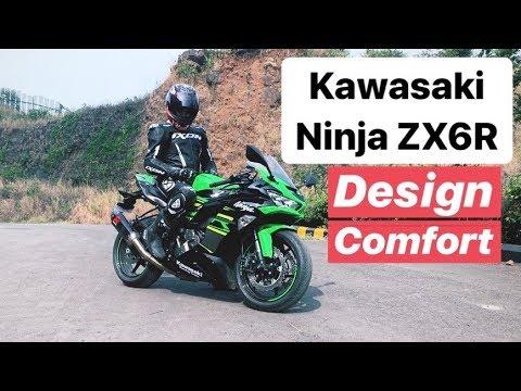 2019 Kawasaki Ninja Zx 6r Review Design Comfort Hindi English